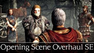 Skyrim Special Edition Mods: Opening Scene Overhaul SE - Escaping with Ulfric Stormcloak