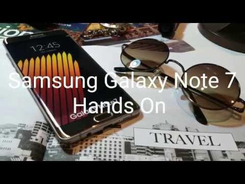 Hands On : เปิดตัว Samsung Galaxy Note 7 ในไทย