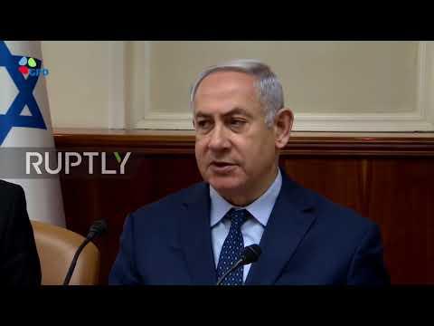 Israel: Netanyahu backs Syria strikes as 'important international message'