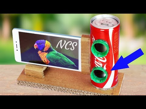 How To Make A Mobile Phone Speaker At Home   Using Coke Bottle