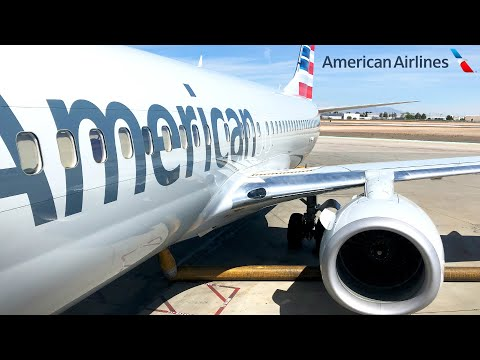 TRIP REPORT: American Airlines | Boeing 737-800 | Dallas/Ft. Worth - El Paso | Economy