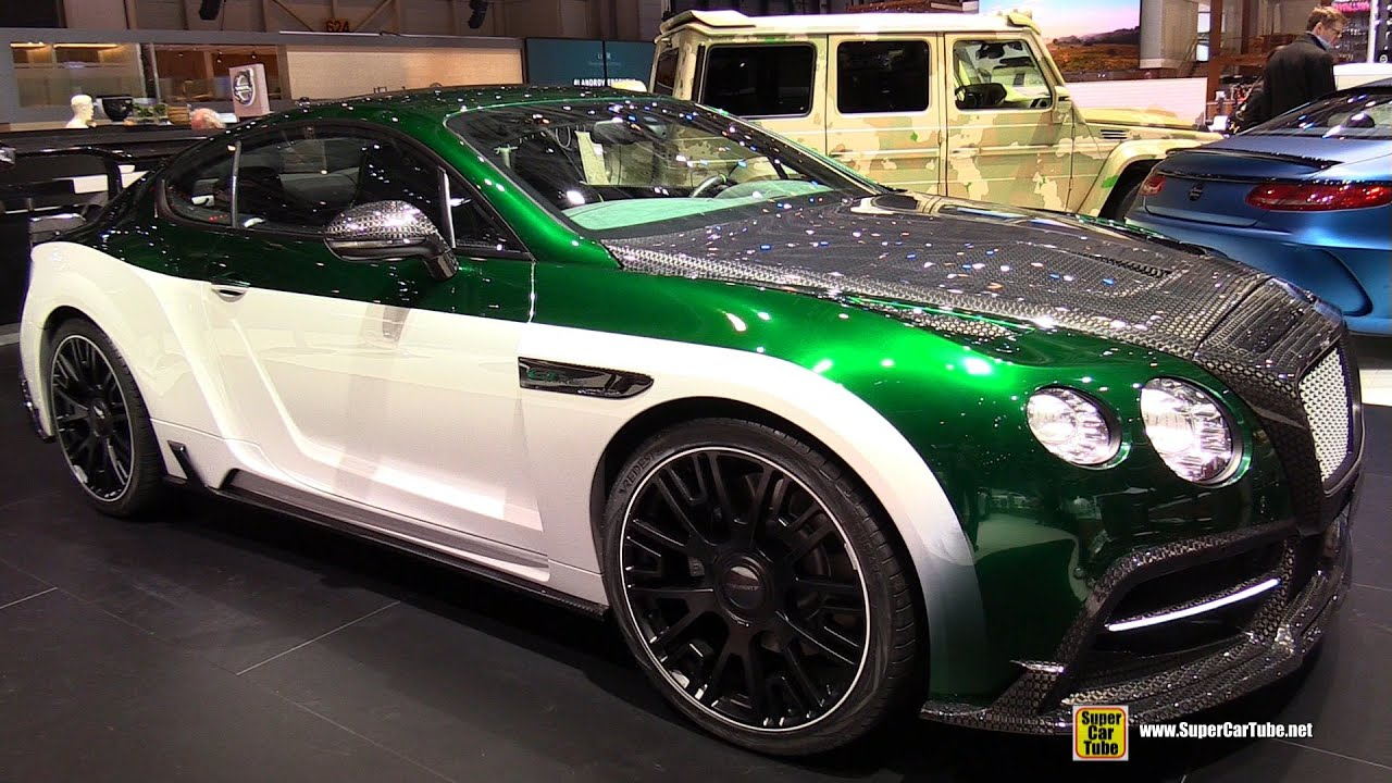 2015 Bentley Continental Gt Race By Mansory Exterior