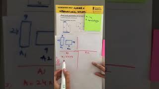 Math Homework for The International School for Grade 6  (23-01-2020) - Area & Perimeter
