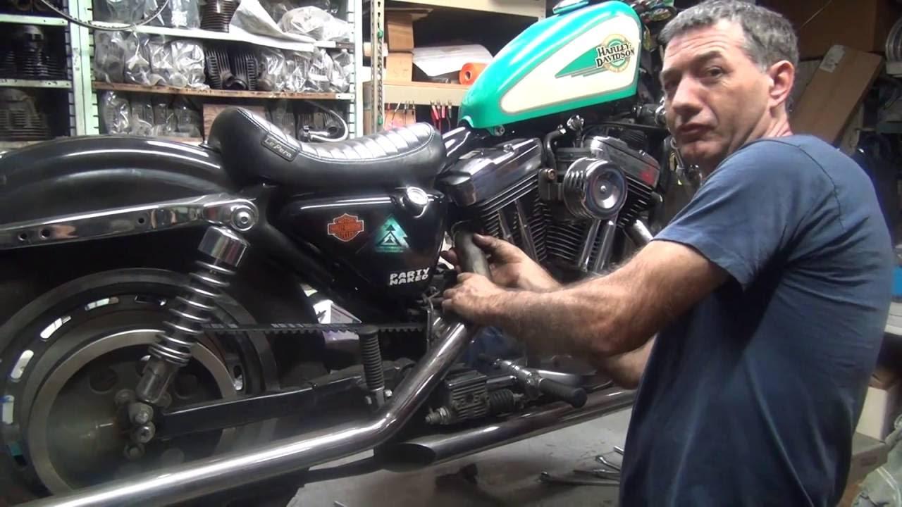 20160902183653 4 2002 Evo Sportster Rear Belt Install Xl Harley Stator Wiring Diagram