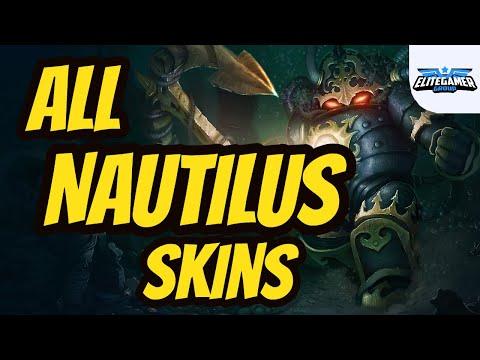 All Nautilus Skins Spotlight League of Legends Skin Review