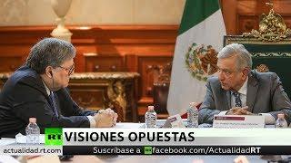 """López Obrador defiende la no intervención durante una """"buena reunión"""" con el procurador de EE.UU."""