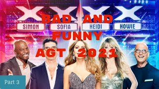 America's Got Talent Bad And Funny Auditions Part 3