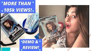 BBLUNT SALON SECRET HAIR COLOR-HOW TO APPLY+ REVIEW
