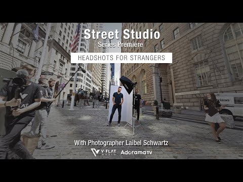 Street Studio: Headshots With Strangers EP 1 Laibel Schwartz