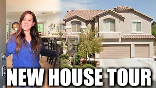OUR NEW HOUSE TOUR   Welcome to Our New Home Tour   PHILLIPS FamBam Vlogs