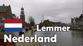THE NETHERLANDS Kijkje in Lemmer in Friesland
