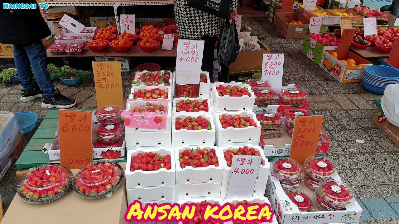 Ansan station - 안산 역 - Ansan market - 안산 시장 - Khu phố người Việt ở Hàn Quốc - Ansan korea  4 K