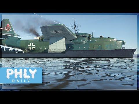 BV-238 BATTLESHIP....Fail Montage  (War Thunder Naval Forces Gameplay)