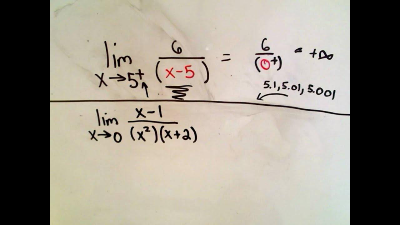 Calculus - Infinite Limits