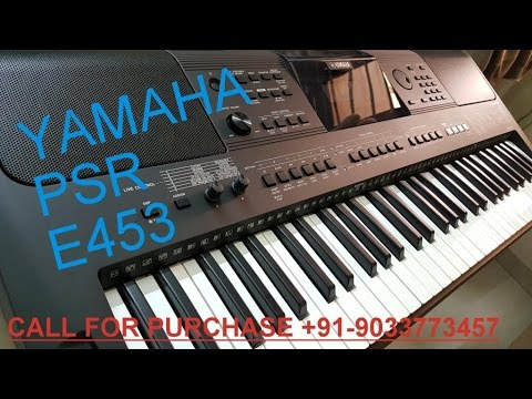 YAMAHA PSR E-453 INDIAN REVIEW 9033773457