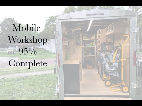 Paulk Inspired Tool - Work Trailer Build Handyman and Home Remodeling Company