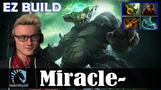 Miracle - Underlord Offlane | EZ BUILD | Dota 2 Pro MMR Gameplay