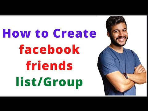 How To Create Friends List In Facebook 2020
