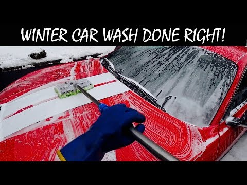 How To Wash Your Car In Winter The Right Way | Auto Fanatic