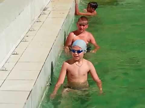 Лагерь Волна 4 смена 2017 год. Соревнования по плаванию. Vk.com/unostmk
