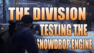 The Division: Closed Beta - Testing the Snowdrop Engine (1080P)