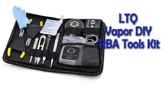 original ltq vapor diy rba tools kit review gearbest com