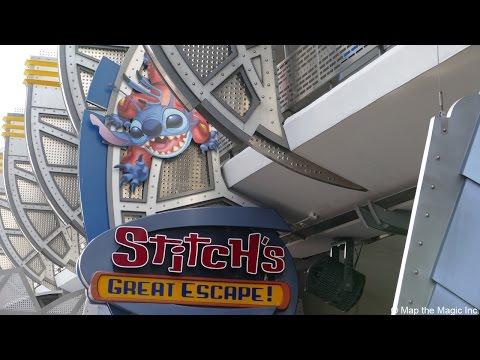 Stitch's Great Escape Full POV in HD