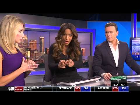 Former Cleveland news anchor Sharon Reed's response to a racist