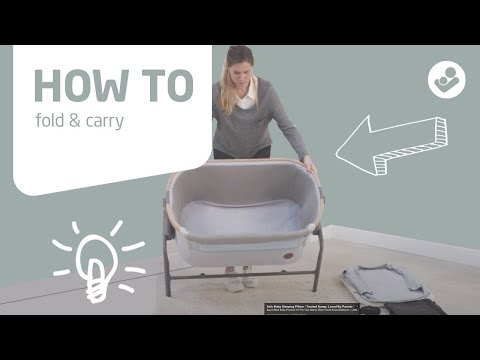 Maxi-Cosi | Iora 2-in-1 bedside sleeper | How to fold & carry