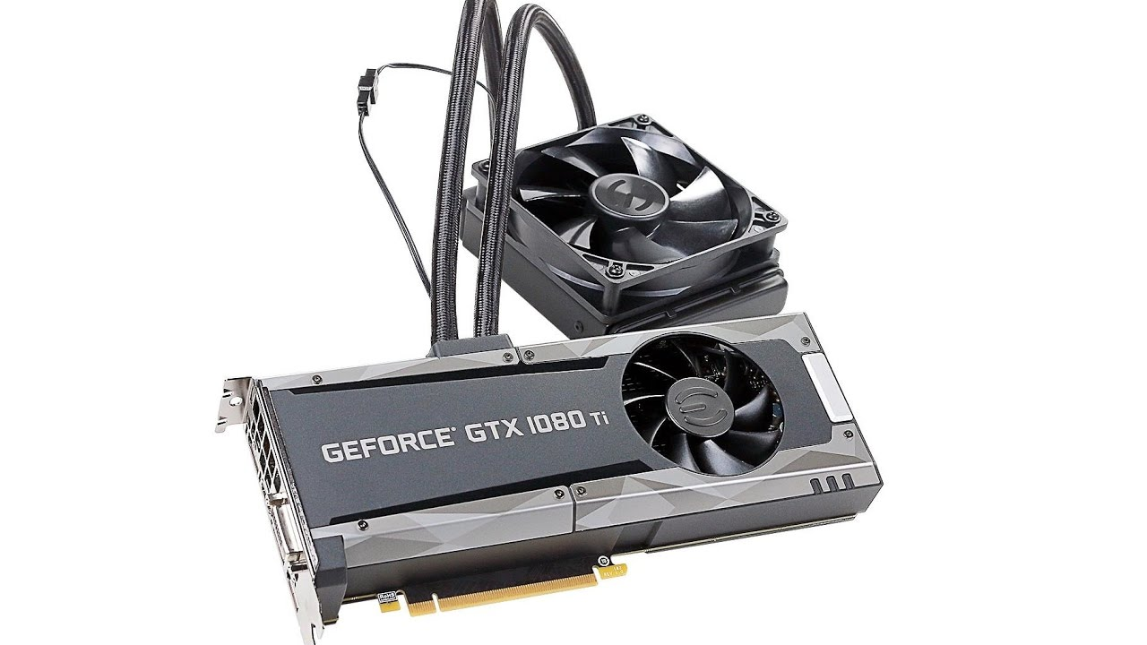 EVGA Launches the GeForce GTX 1080 Ti SC2 HYBRID