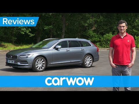 Volvo V90 Estate 2018 in-depth review | carwow Reviews