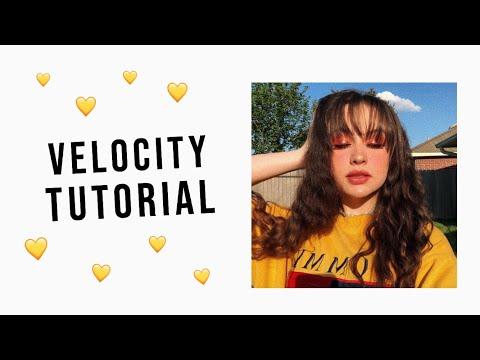 Velocity Tutorial | cute cut