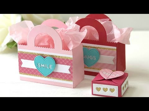 Valentine's Day Treat Bags And Boxes