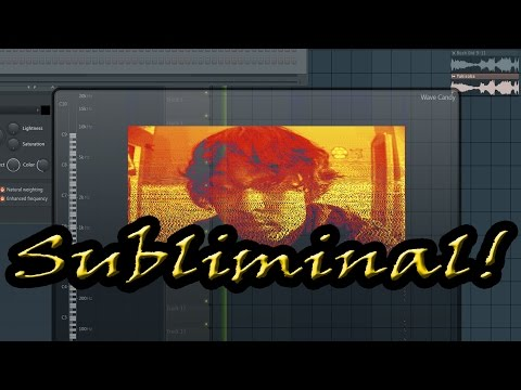 How To Put Subliminal Images Into Your Music!