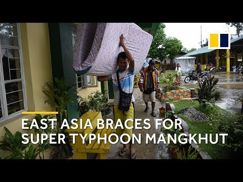 Philippines, Hong Kong and Guangdong ramp up preparations as Super Typhoon Mangkhut approaches