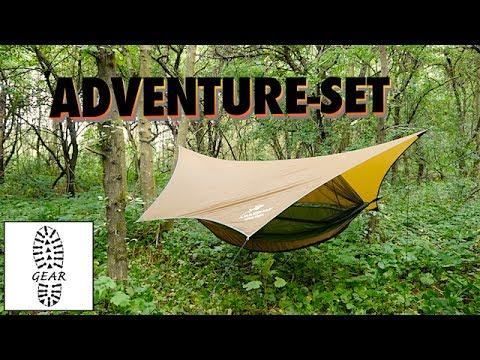 """Ultralight-Hängematten-Setup """"Adventure"""" von Amazonas"""