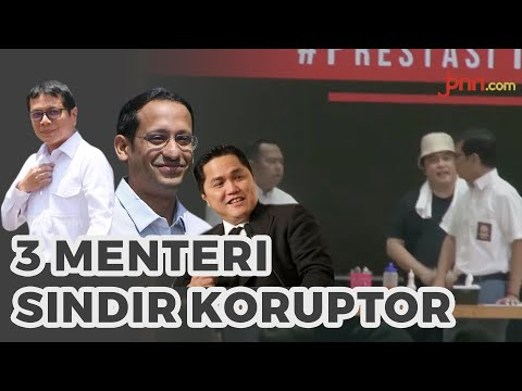 Nadiem, Wishnutama, Erick Thohir Main Drama di Hari Anti Korupsi Sedunia