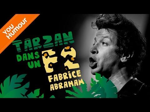 FABRICE ABRAHAM - Tarzan dans un appartement F2