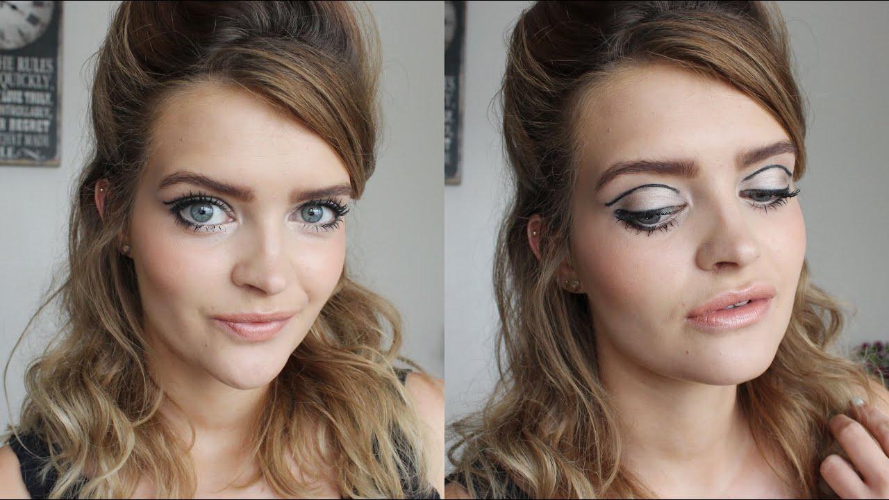 1960's hair & makeup tutorial | megsboutique