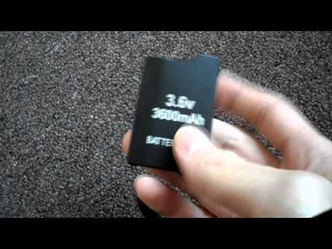 Review Fake Chinese made PSP Sony Playstation Portable 1000 2000 3000 Battery batteries