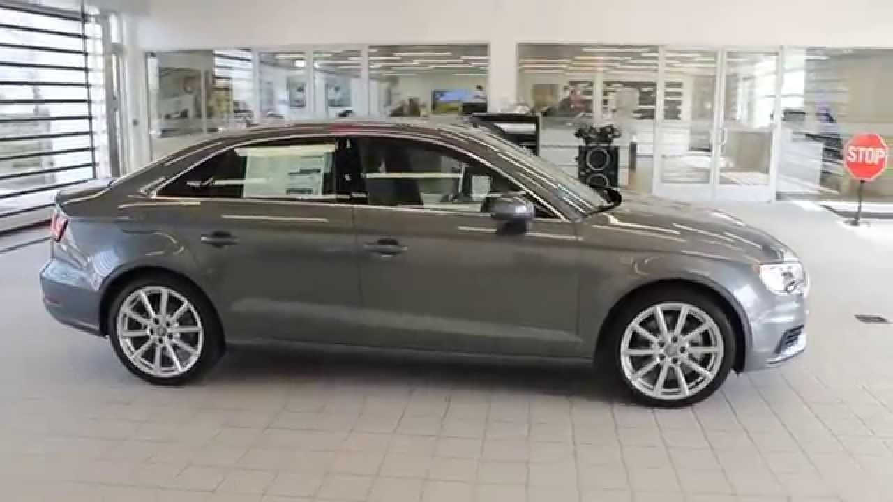 2016 Audi A3 Lotus Gray Metallic Stock 110651 Walk