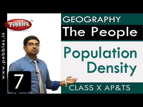Population density | The People | Social Science | Class 10