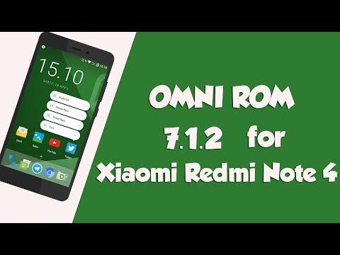 [mido]OMNI ROM 7.1.2 for Xiaomi Redmi Note 4[SD]