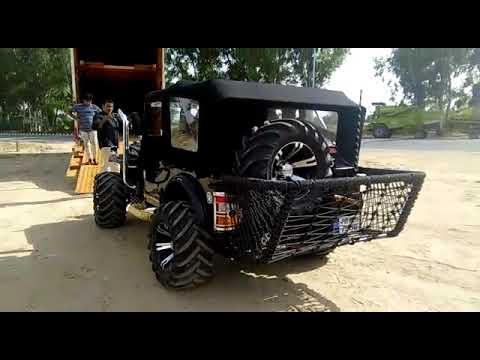Punjab Open Jeep Modified Open Jeep Hunter Jeep Youtube