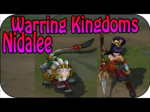 Warring Kingdoms Nidalee - Skin Spotlight - Skin Vergleich