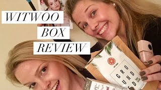 witwoo box review   peony blush