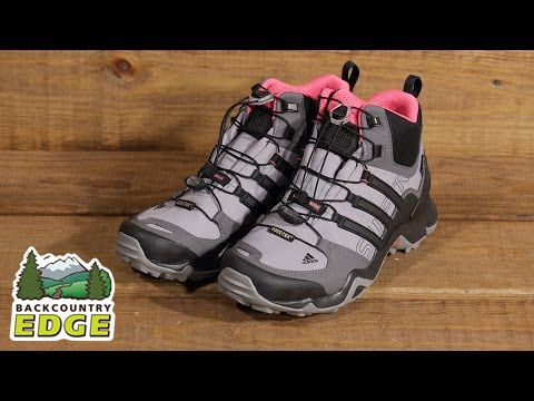 outlet store 855c5 4177e adidas Outdoor Women s Terrex Swift R Mid GTX Boot - YouTube
