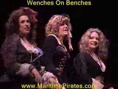 Wenches On Benches - Maritime Pirates