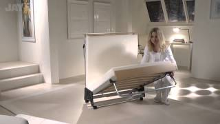 onlinebedshop presents Jay-Be guest beds : Folding Bed with Aluminium Frame and Memory Foam Mattress