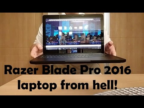 Highly defective Razer Blade Pro 2016 awful customer service and repairs.